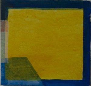 18 z.t. acryl on paper  19 x 18