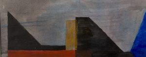 8 z.t.  acryl on paper  40 x 17