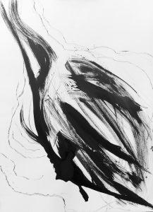 'Blackbird 12' 76 x 56,5