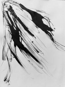 'Blackbird 2' 65 x 50