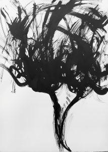 'Blackbird 11'  56,5 x 76