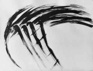 ' Blackbird 3'  65 x 50