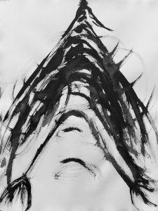 'Blackbird 4'  65 x 50