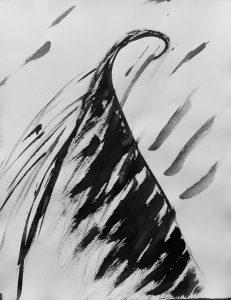 'Blackbird 1'  65 x 50
